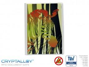 RFID Reisepass-Schutzhülle TRENDYSAFE Zebra