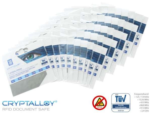 RFID NFC Schutzhülle 50er Set CLASSIC CREDIT