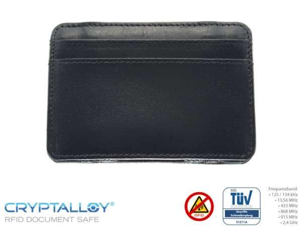 RFID NFC Kreditkartenetui MAGIC Schwarz