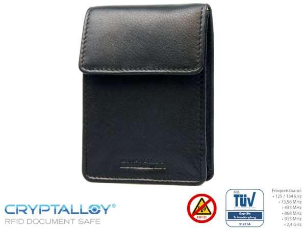 RFID NFC Multi-Kartenhalter Schwarz