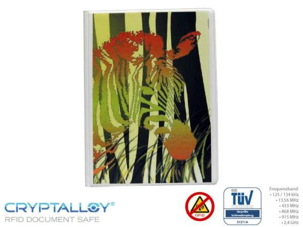 RFID NFC Reisepass-Schutzhülle TRENDYSAFE Zebra