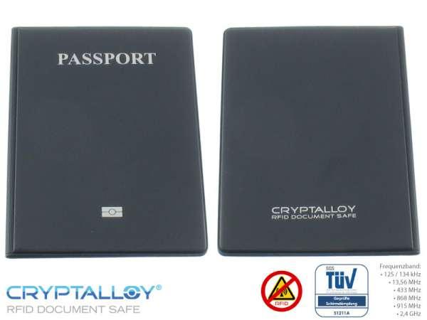 RFID NFC Reisepass Schutzhülle DALLAS