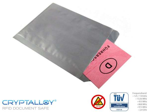 RFID NFC Führerschein Schutzhülle CLASSIC LICENSE
