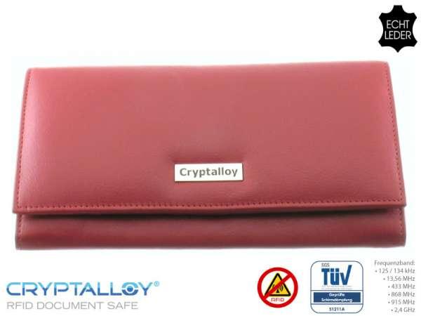 RFID-Damenbörse ALEXANDRIA, rot