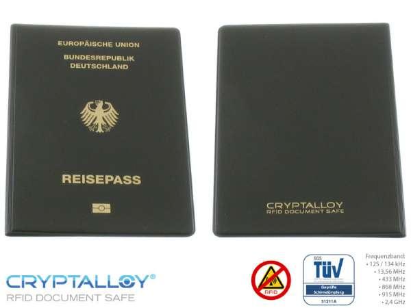 RFID NFC Reisepass Schutzhülle BONN