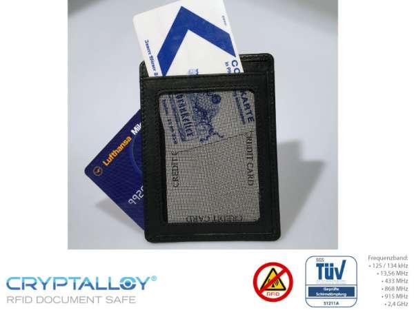 RFID NFC Kreditkartenetui NEAPEL